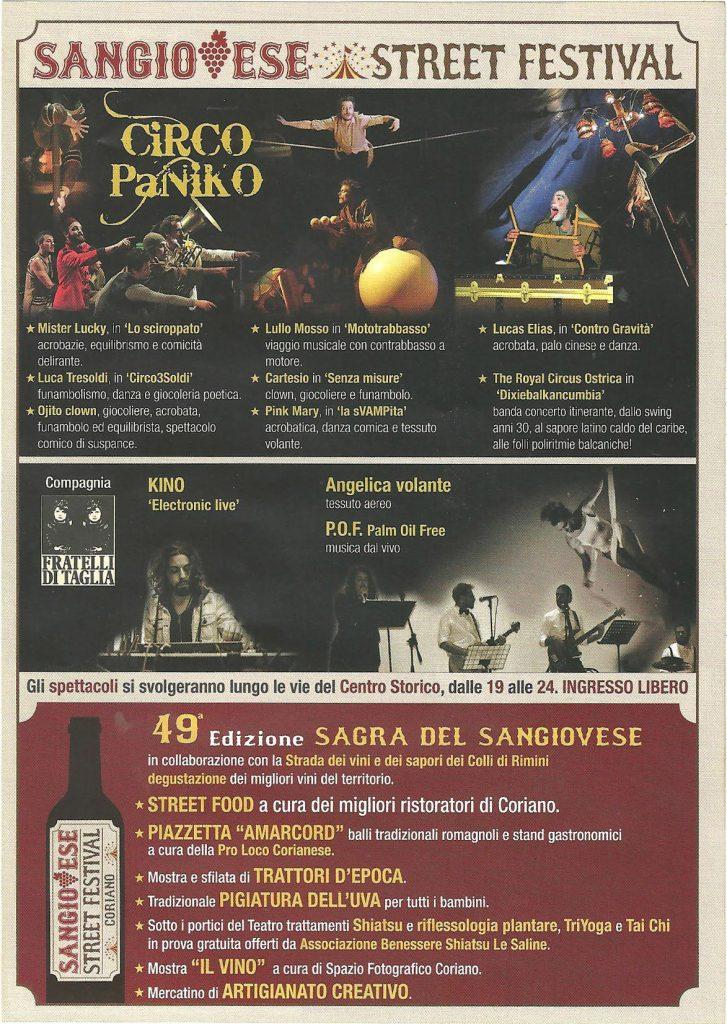 Coriano Sangiovese Street Festival